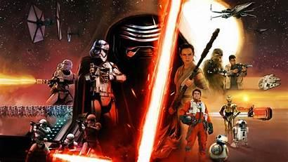Wars Star Episode Awakens Force Desktop Wallpapers
