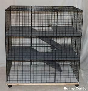 cat condo cage new indoor large bunny condo rabbit cage pen hutch ebay