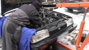 Subaru Leone Turbo Engine Ea82t Remove