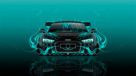 Abstract Car Wallpaper 4k by Audi R8 Front Abstract Car 2016 Wallpapers El