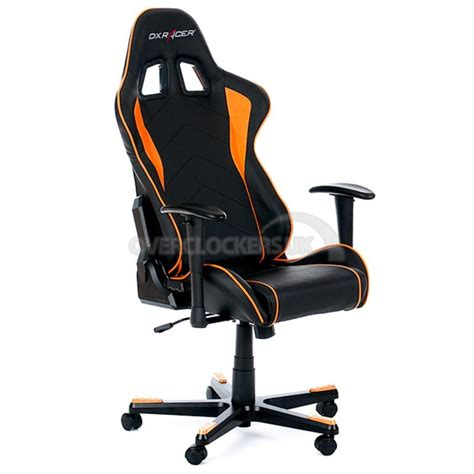 dxracer chaise dxracer formula series gaming chair orange ocuk