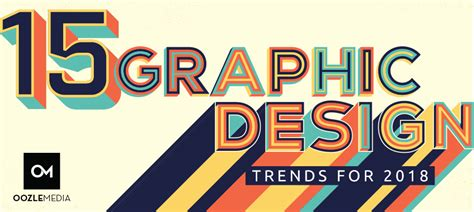 15 graphic design trends for 2018 oozle media