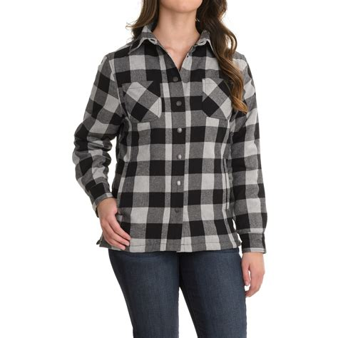 flannel shirt jacket with quilted lining flannel shirt jacket quilted lining jackets review
