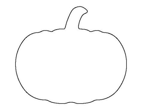 pumpkin shape template pumpkin outline template free design templates