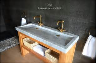 Small Round Undermount Bathroom Sinks by 47 Double Marble Trough Carrara White Bathroom Sink Love