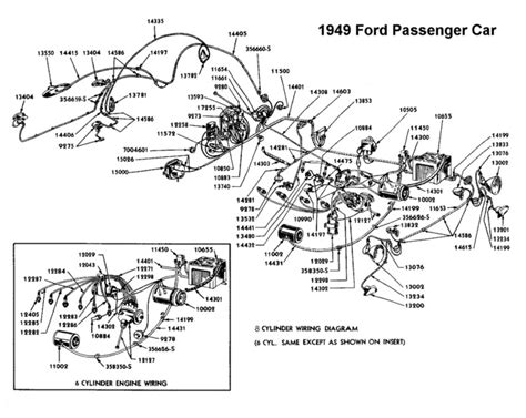 1950 Shoebox Ford Headlight Switch Wiring Diagram by Flathead Electrical Wiring Diagrams