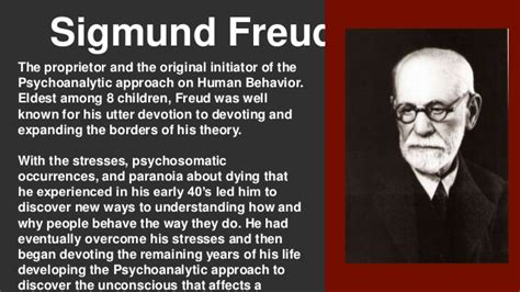 sigmund freud and the psychoanalytic therapy 101