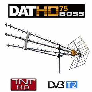 Antenne Tnt Hd Exterieur Reception Difficile : antenne dat hd 75 boss televes uhf tnt gain 19 db ~ Dailycaller-alerts.com Idées de Décoration