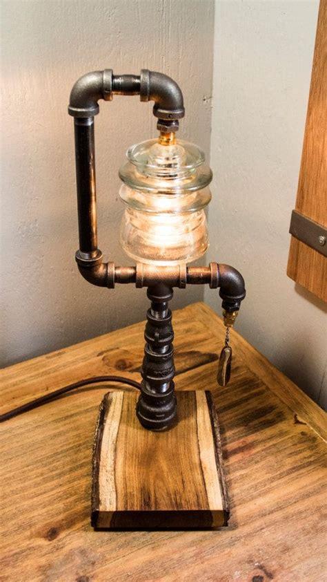 extravagant diy lamp designs  industrial charm