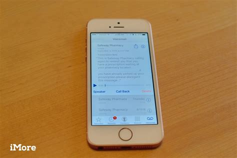 how to listen to voicemail on iphone how to use voicemail transcripts in ios 10 on iphone imore