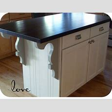 Kitchen Island Makeover By My Suite Bliss, Plus A Word Art