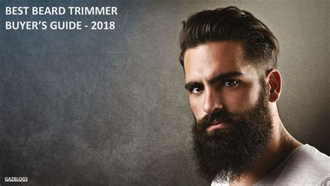 beard trimmer man buyers guide