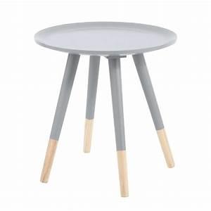 Table Basse Vintage Bois : table basse vintage en bois grise l 40 cm dekale maisons du monde ~ Melissatoandfro.com Idées de Décoration