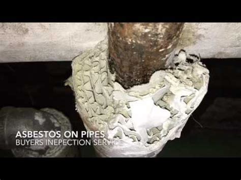 asbestos covered pipes youtube