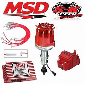 Msd 9174 Ignition Kit 6al Distributor  Wires  Coil