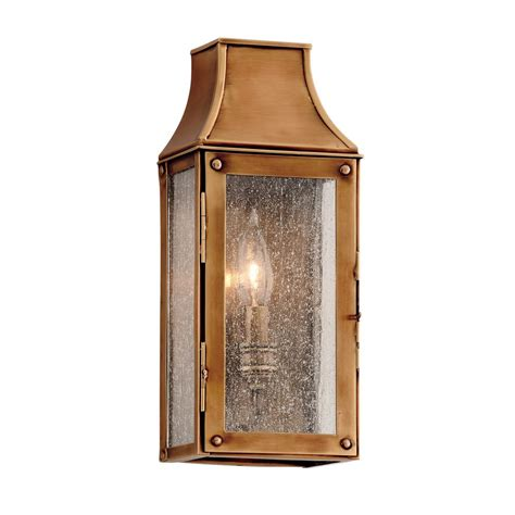 troy lighting beacon hill heirloom brass outdoor wall