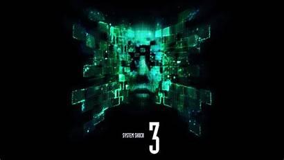 Shock System Shodan Cyberpunk 4k Wallpapers Desktop