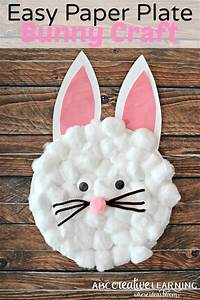 Easy, Paper, Plate, Bunny, Craft, For, Kids