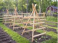 garden trellis plans Vegetable Garden Trellis Designs - WoodWorking Projects & Plans