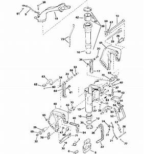 Midsection Parts For 2005 15hp J15rlsoc Outboard Motor