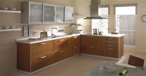 disenos de muebles de cocinas de melamina modernos