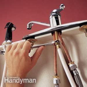 replace  sink sprayer  hose faucet repair faucet
