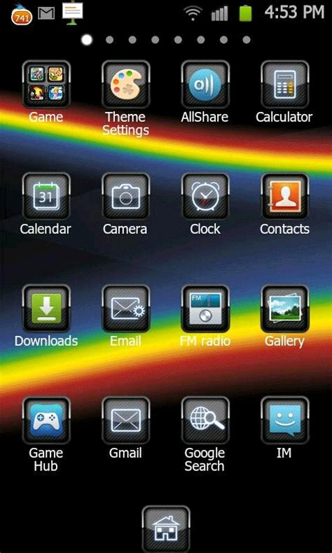 themes for android free blackberry theme go launcherex apk android app free