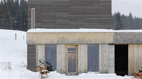 Beton Holz Fassade by Beton Erobert Die Alpine Architektur Beton Org