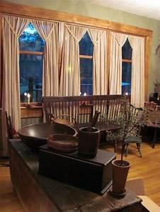 100 cotton 63 quot pair of primitive drapes