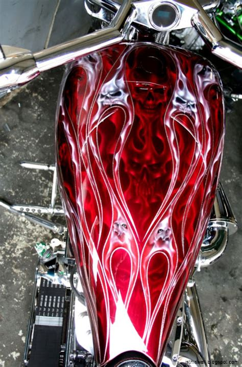 custom motorcycle paint this wallpapers
