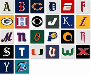 sportsbabel american sporting alphabet With sports alphabet letters