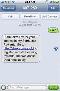 Starbucks Build Up Rewards Program Via Instore Call To