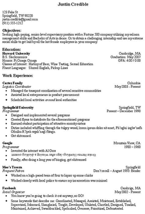 Top Part Of Resume by Objective Section Of Resume Berathen
