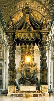 Baldacchino Di San Pietro Bernini by Baldacchino Di San Pietro