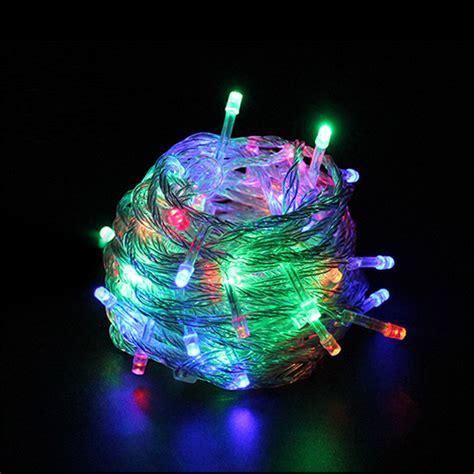 led string lights outdoor outdoor waterproof led string light 10m 100led ac110v or