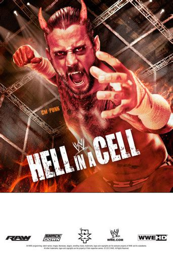 cm punk images hell   cell poster featuring cm punk