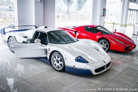 Ferrari Enzo & Maserati Mc12