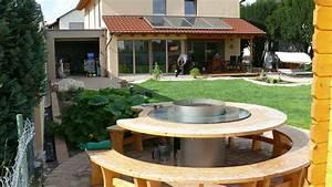 wolfbau unser grillplatz With französischer balkon mit pumpe für zisterne garten