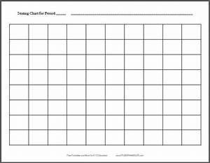 10x8 Horizontal Classroom Seating Chart Template