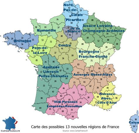 Carte De Et Region Et Departement by Infos Sur Carte Departements Regions 2016 Arts