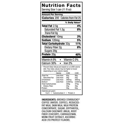 starbucks light menu starbucks nutrition facts caramel frappuccino nutrition