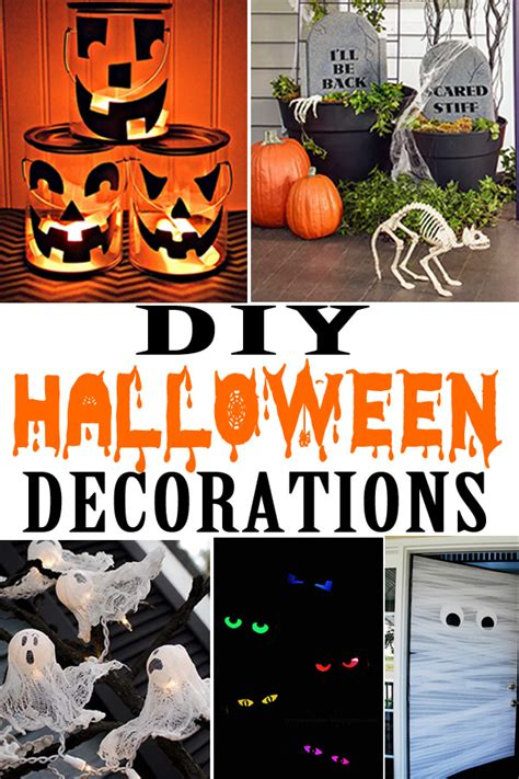 diy halloween decorations cheap easy outdoor home decor halloween party