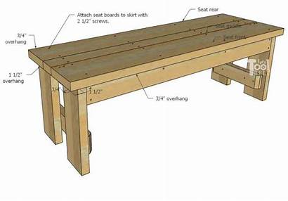 Bench Wood Outdoor Plans Diy Build Seat