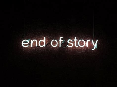 End Of Story  Tim Etchells