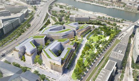 surface utile bureaux mipim axa estate présente qu4drans 86 000 m2