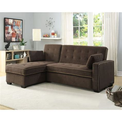 Cer Sleeper Sofa by Tomas Fabric Sofa Chaise Convertible Bed Java