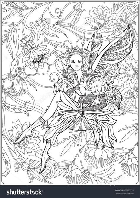 Coloring Background by With Butterfly Wings On Swing On Floral