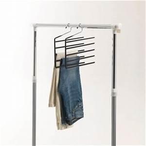 Cintres Gain De Place : cintre gain de place pour 5 pantalons lot de 2 acheter ~ Dailycaller-alerts.com Idées de Décoration