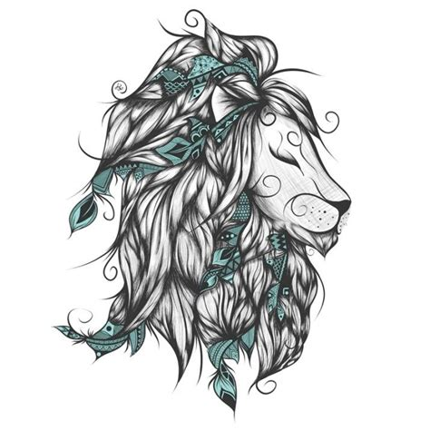 poetic lion loujah hmonchien pinterest tatuajes