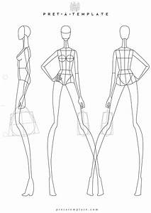 woman body figure fashion template d i y your own fashion With fashion sketchbook with templates